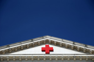 WASHINGTON, DC - AUGUST 21:  An American Red Cross building is shown August 21, 2015 in Washington, DC. According to recent reports, Gail McGovern, the CEO of the American Red Cross, attempted to halt a congressional inquiry into the organization's disaster relief efforts last year. (Photo by Win McNamee/Getty Images)